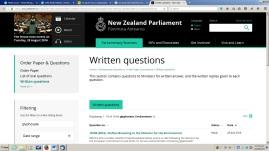 Parliament screen shot